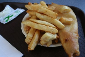 Hutch's fish and chips