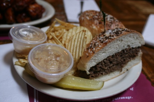 Gabriel's Gate Beef on Weck