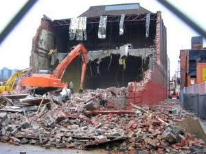 Century Theatre demolition
