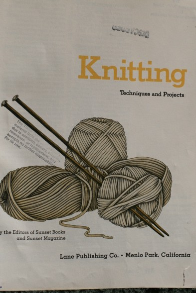 1970's Vintage Knitting Book
