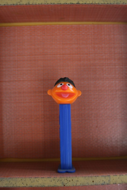 Ernie Pez dispenser