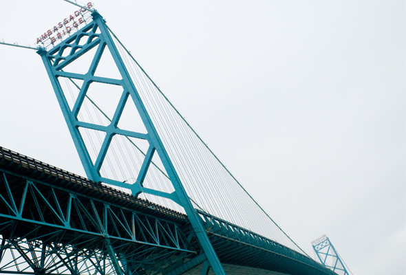 Ambassador Bridge, Windsor to Detroit