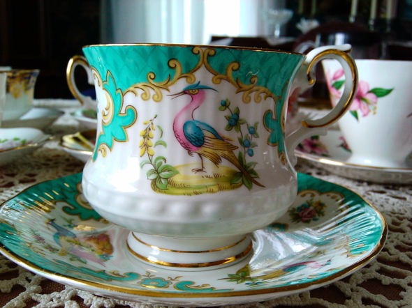 vintage, Victorian tea, cup and saucer, tea party