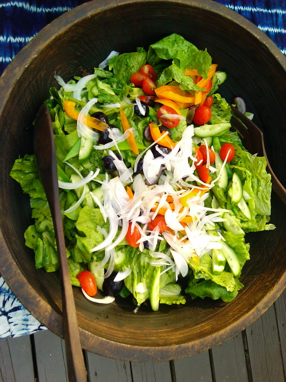 colourful salad