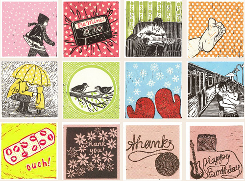 cards by Katie Muth, Summer Craft Fair, James St. North