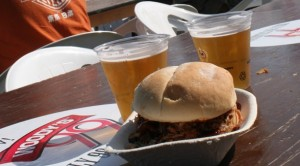 pulled pork'n beer