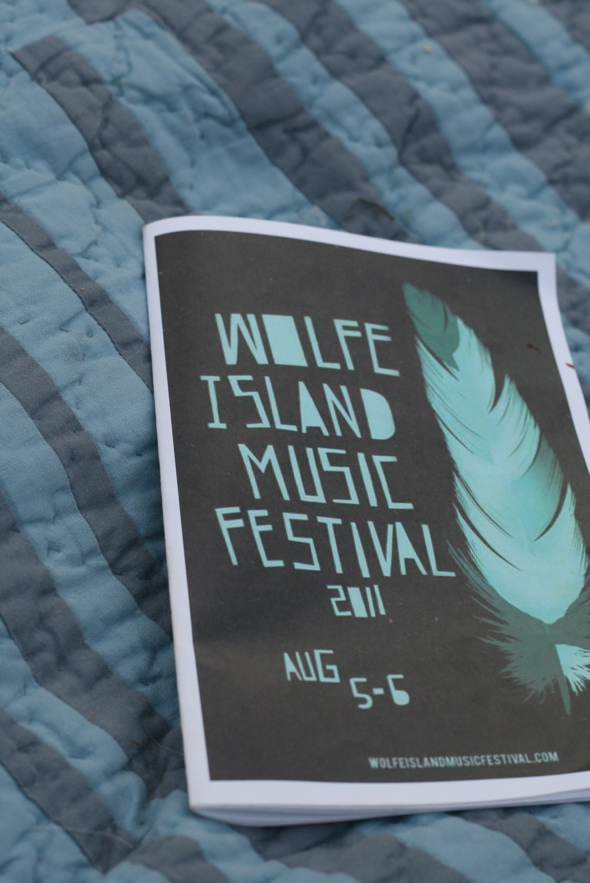 Wolfe Ilsand Music Festival program 2011, Kingston