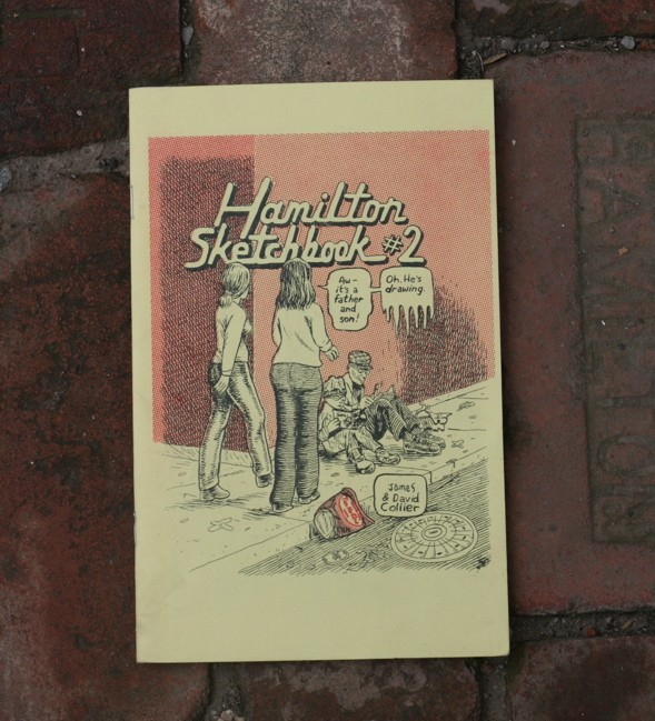 Hamilton Sketchbook #2, David Collier, Hamilton, Ontario, graphic novel