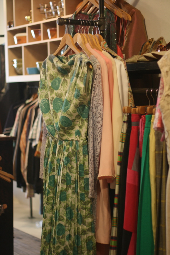 50's vintage dress, MODify Your Closet, Hamilton, King St. clothing store