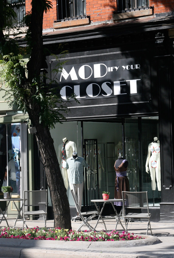 MODify Your Closet, Hamilton, King St. vintage & consignment clothing shop