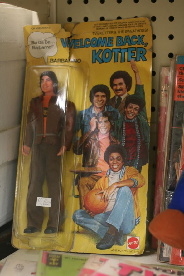 Welcome Back Kotter, vintage doll, Antique Avenue, Ottawa Street, Hamilton, Ontario, antiques