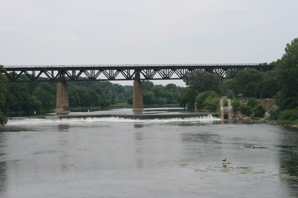 The Grand River, Paris, Ontario