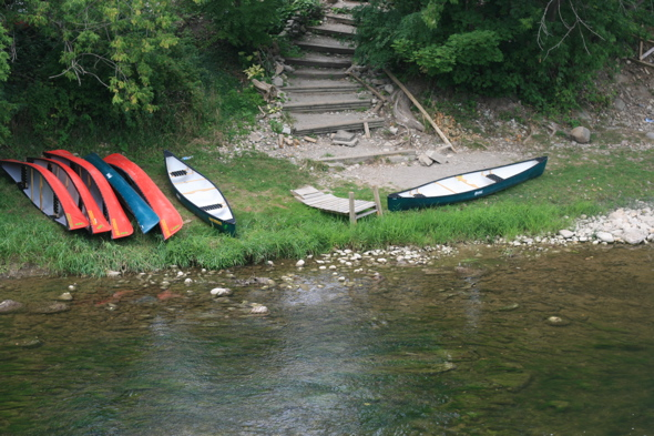 Grand Experience Canoe & Kayaking, Paris, Ontario, boat rentals, Grand River