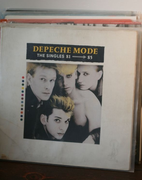Depeche Mode, The Singles, vinyl, record