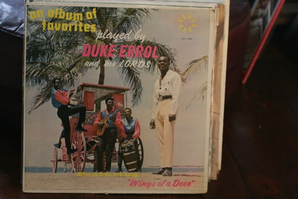 Duke Errol, vinyl, record, Calypso