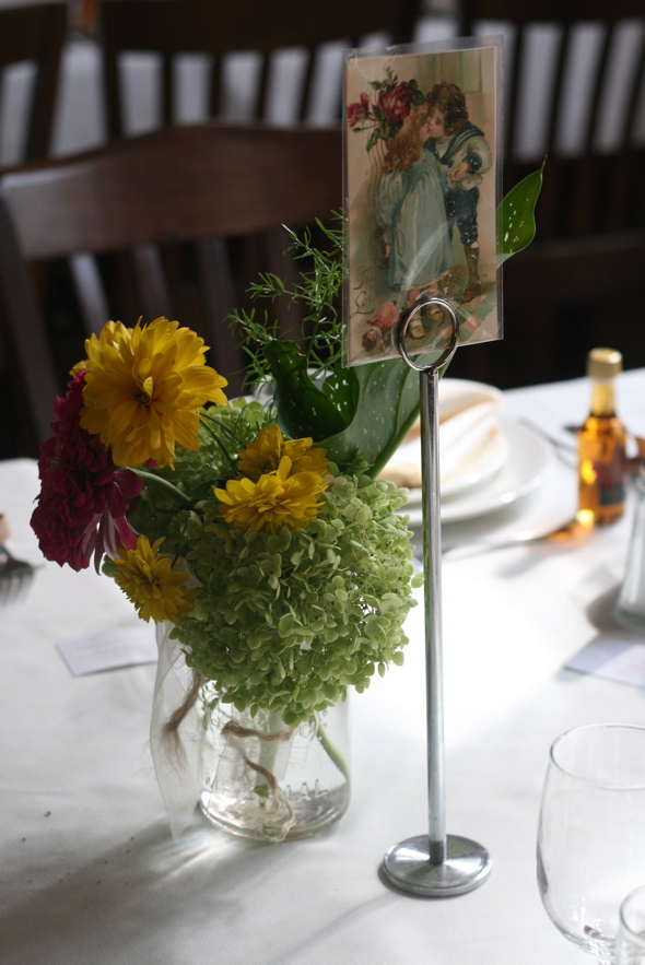 homegrown flowers, DIY table centre pieces, early September fall wedding