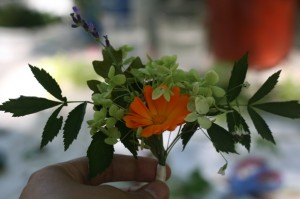 my second boutonniere