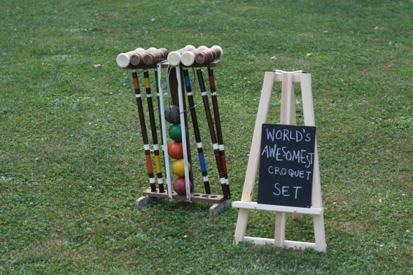 croquet, wedding lawn games