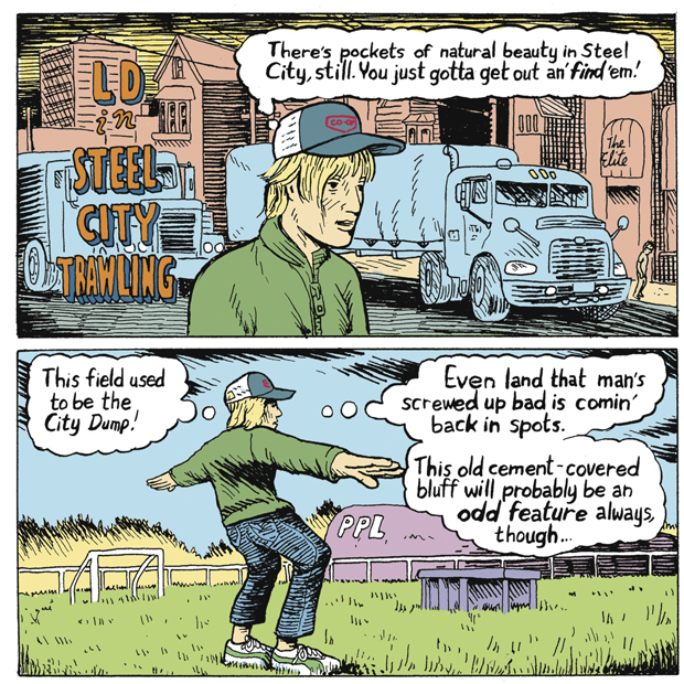 Luke Doucet and the White Falcon, graphic novelist, artist, David Collier, Hamilton, Ontario