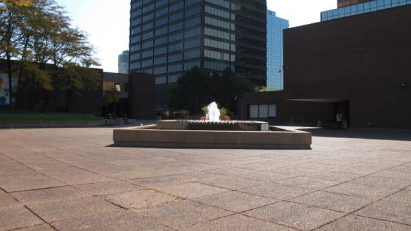Jackson Square, roof top, public space, Hamilton, Ontario