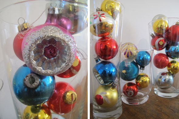 Christmas decoration, Christmas balls, Christmas bulbs, vintage Christmas decorations