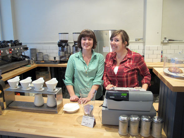 cannon coffee co. Hamilton, ontario, 179 Ottawa St. north, owners Anne Cumby and Cindy Stout