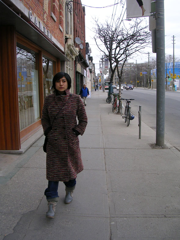seema narula, queen st. west, toronto
