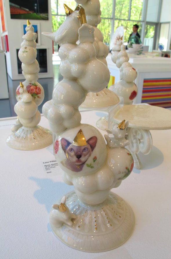 Lana Filippone, bubble trophy, AGH, Spring Art Sale, 2012