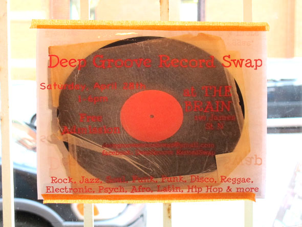 deep groove record swap, april 28 2012