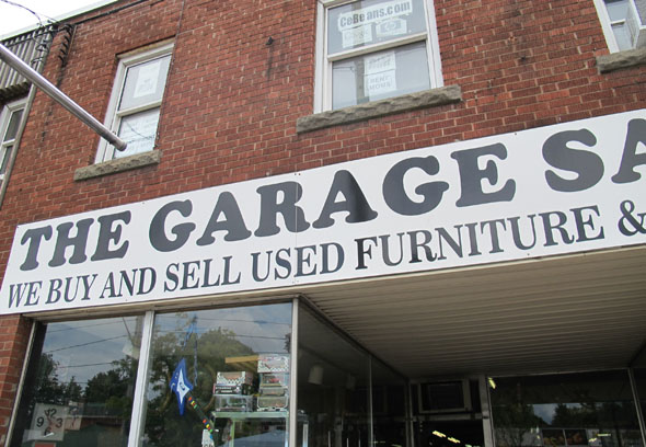The Garage Sale Place, Concession St., Hamilton, antiques