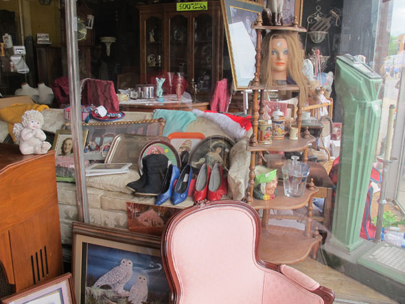 The Garage Sale Place, antiques, Concession St., Hamilton, Ontario