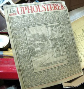The Upholsterer Magazine 1909