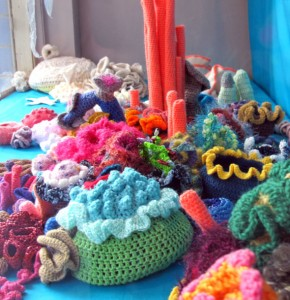 """Hyperbolic Crochet Reef"", mostly built by Angelune Des Lauriers, Shannon Gerard, Kalpna Patel & Becky Johnson"