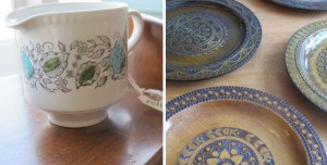 Relish Vintage dishes