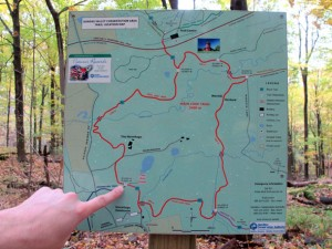 Dundas Conservation trail map