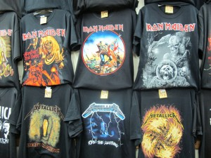 iron-on rock shirts