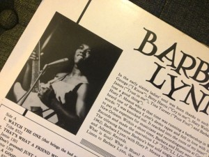 Barbara Lynn album cover back