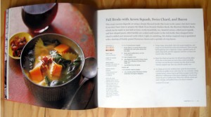 fall brodo acorn squash swiss chard bacon