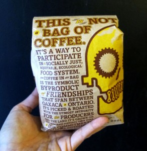 this is not a bag of coffee