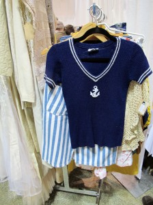 vintage anchor sweater