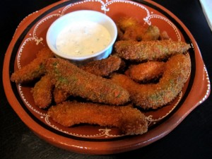 WORK avocado fries