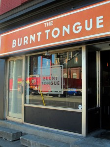 Burnt Tongue