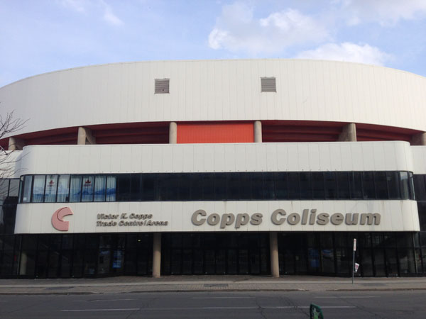 Copps Coliseum Bay St.