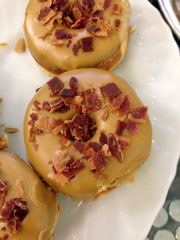 grandads maple bacon donut
