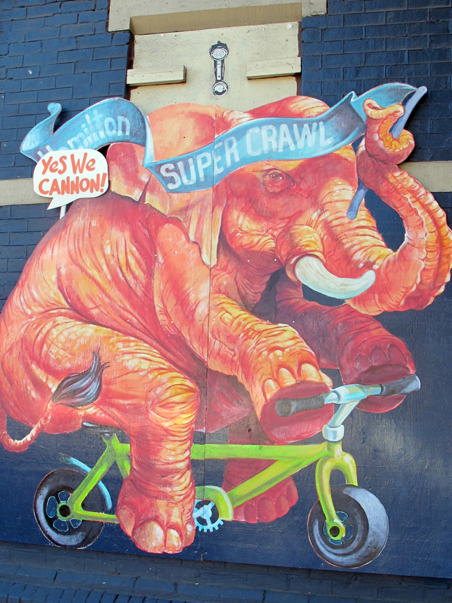 Lester Coloma Supercrawl Elephant